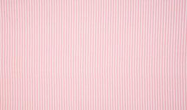 Schlauchbündchen Ringel rosa-weiß