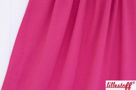 Biojersey uni pink - Lillestoff