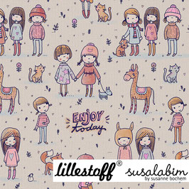Susalabims Enjoy today, pastell - Biojersey Lillestoff