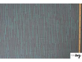 Streifen graumint - Modal Lillestoff