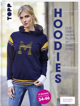 Hoodies - Selbstgenähte Kapuzenpullover mit trendy Extras, Modelle in den Größen 34-46
