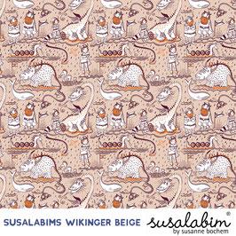 Susalabims Wikinger beige - Biosweat Lillestoff