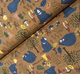Forest - Fester Baumwollstoff Cosmo fabrics