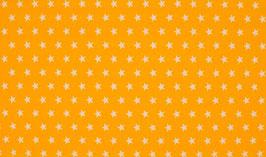 Sterne gelb - Baumwollstoff