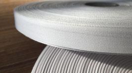 Haushaltsband weiß 15 mm