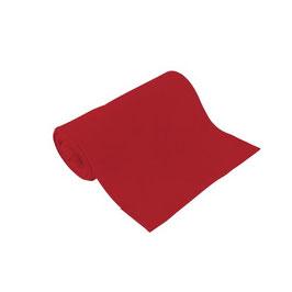 Bio-Schlauchbündchen uni rot
