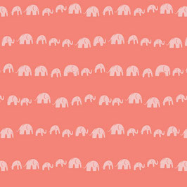 Selva Elefanten - Baumwollstoff Art Gallery
