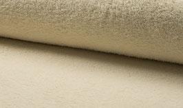 Handtuchfrottee uni beige/natur/ecru