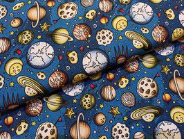 Interstellar 3 Raumfahrt - Baumwollstoff Devonstone