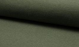Schlauchbündchen uni khaki meliert