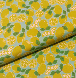 Pucker up Limetten - Baumwollstoff Maude Asbury für Blend fabrics