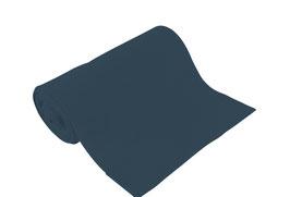 Bio-Schlauchbündchen uni indigo/dunkelblau