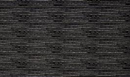 Ringel schwarz/weiß - Baumwolljersey