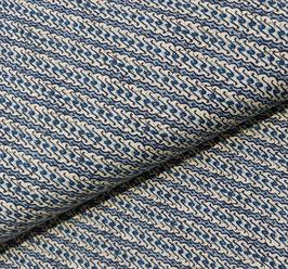 Javanese Style Batik blau - Popelin