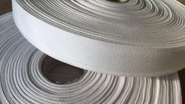 Nahtband/Köperband weiß 20 mm