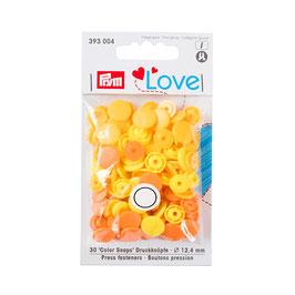 Color Snaps Druckknöpfe gemischt gelb - 30 Stück - Prym Love