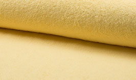 Handtuchfrottee uni hellgelb/vanille