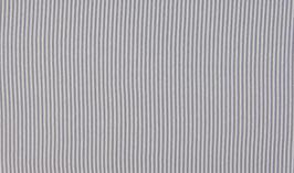 Schlauchbündchen Ringel silber-grau