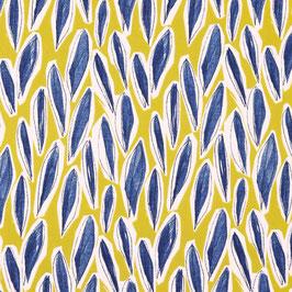 Leaves ocker - Canvas