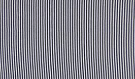 Schlauchbündchen Ringel dunkelblau-weiß