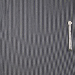 Denim Stripes denim dunkelblau washed/weiß - Jeansstoff