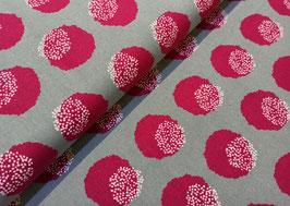 ECHINO Dots mint/pink - Canvas KOKKA