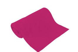 Bio-Schlauchbündchen uni pink