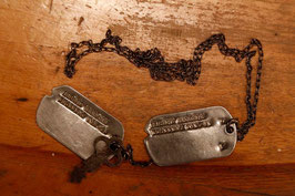 1940's MILITARY DOG TAG