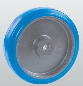 Колеса и ролики из эластичной резины с полиамидным центром серия 33 STANDART