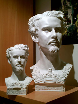 "Bust ""König Ludwig II"" - small (on the left)"