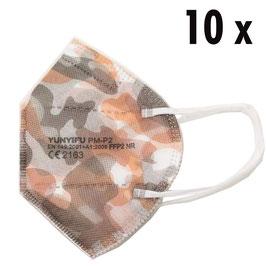 FFP2 Maske camouflage (10 Stück)
