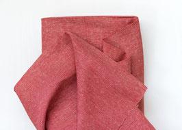 Robert Kaufman / Essex Yarn Dyed Homespun / Flame / Baumwoll-Leinenstoff