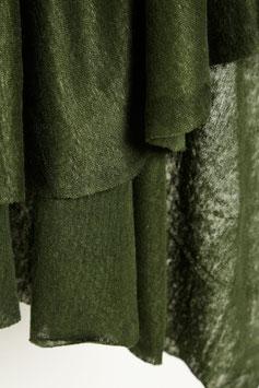 Mind the Maker / Fine Linen Knit / Green Khaki