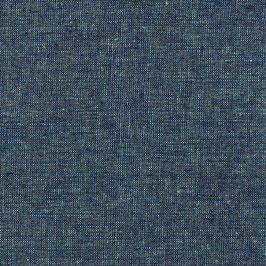 Robert Kaufman / Essex Yarn Dyed Metallic / Ocean / Baumwoll-Leinenstoff