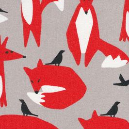 Cloud9 Fabrics / Wildlife / Foxes / Canvas