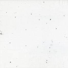 Nani Iro Nani Iro / BEAU Yin Yang  / Confetti / Snow White / Satinierter Baumwollstoff