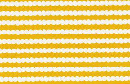 Kokka Melimba Soft Bubbles / Mustard Yellow