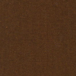 Robert Kaufman / Essex Yarn Dyed / Cinnamon / Baumwoll-Leinenstoff