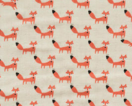 Tréfle / Many Tiny Foxes / Cream / Double Gauze