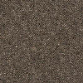 Robert Kaufman / Essex Yarn Dyed / Espresso / Baumwoll-Leinenstoff