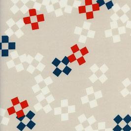 Cotton+Steel / Frock  / Pixel Print / Bowling Pin
