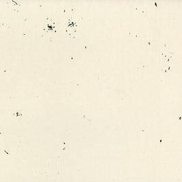 Nani Iro Nani Iro / BEAU Yin Yang  / Confetti / Off White / Satinierter Baumwollstoff