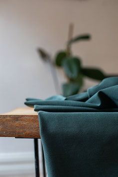 Meet Milk / Deep Green / Soft Stretch Twill