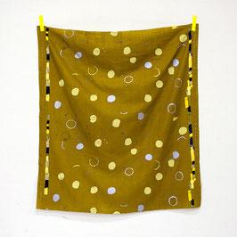Nani Iro / Sound Circle  / Cantabile / Double Gauze / REST 80 x 106 cm