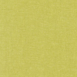 Robert Kaufman / Essex Yarn Dyed / Pickle / Baumwoll-Leinenstoff