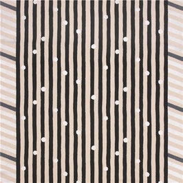 Echino / Line / Black - Silver