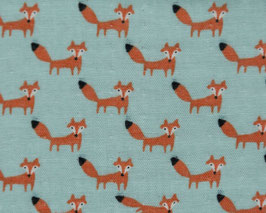 Tréfle / Many Tiny Foxes / Mint / Double Gauze