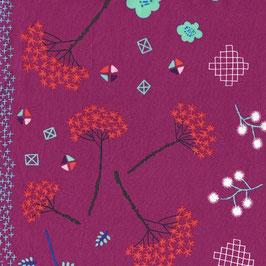 Cotton+Steel / Mochi / Mochifloral Purple
