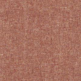Robert Kaufman / Essex Yarn Dyed Metallic / Copper / Baumwoll-Leinenstoff