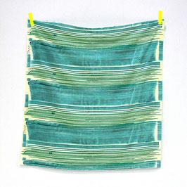 Nani Iro / SAAAA SAAA Rondo / Green / Double Gauze